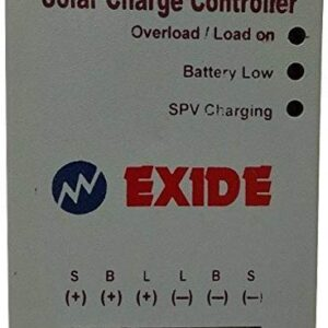 Prabha Exide Technologies 12/24 V, PWM 6 A Solar Charge Controller for Home Light